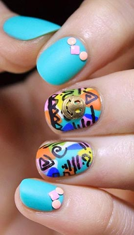 Art Nail Design For Short Nails Hours Tv