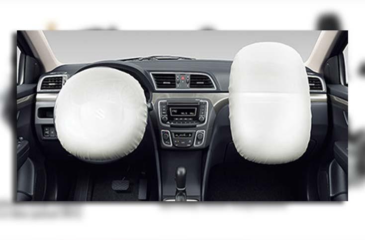 Airbags in Suzuki Ciaz