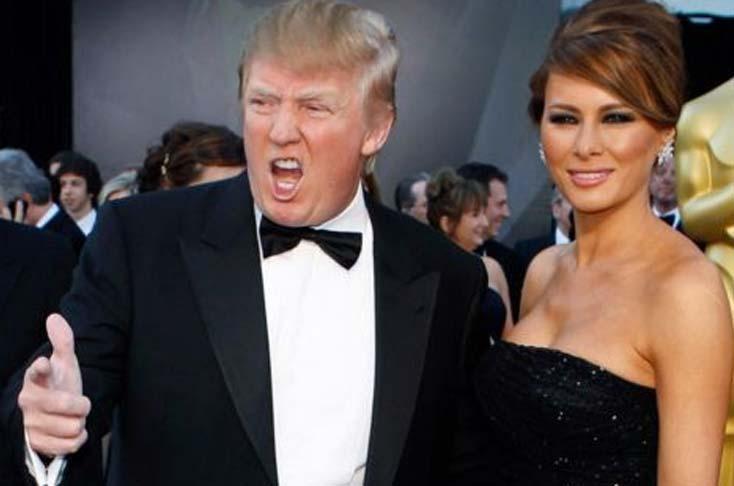 Donald Trump at Oscars Award Ceremony