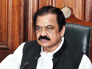 Law Minister Rana Sana Ullah