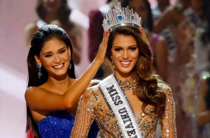 Iris Mittenaere the Miss Universe