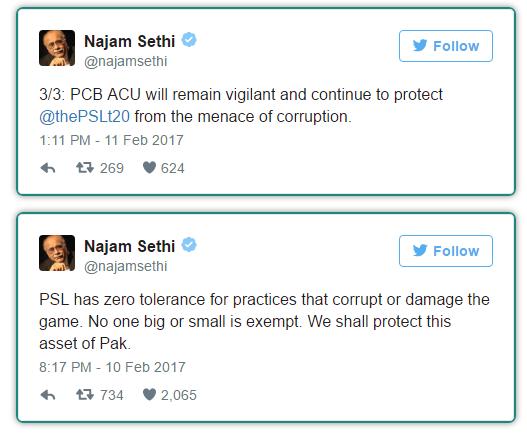 Najam Sethi Tweets