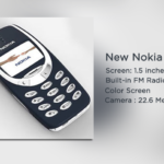 Latest Nokia 3310 Specifications