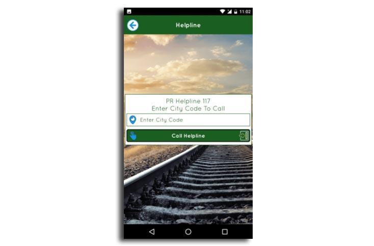 Pakistan Railway mobile app launched