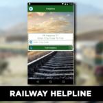 Railway Helpline