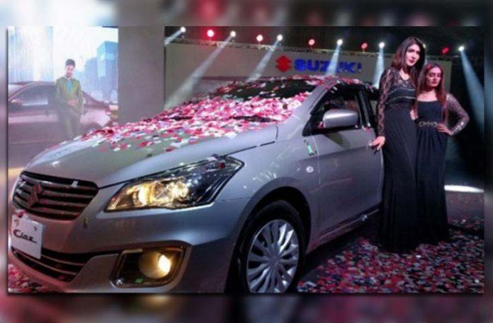 Pak Suzuki launches the new Suzuki Ciaz