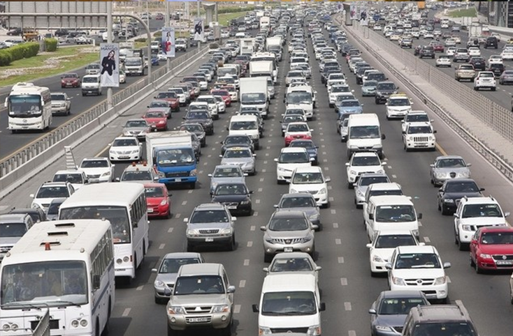 Traffic Congestion in Dubai for Real