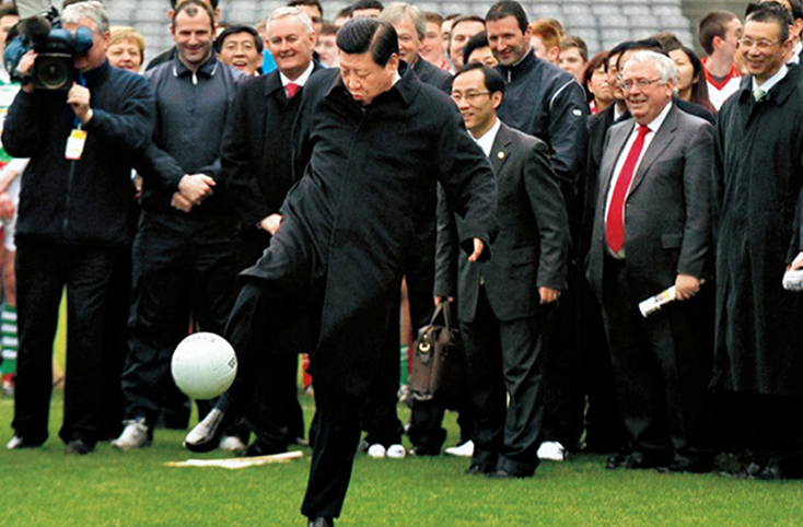 President Supporting Chinese Super League