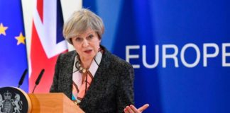 Theresa May Announces Article 50 Day