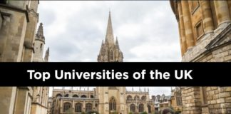 UK Universities Top