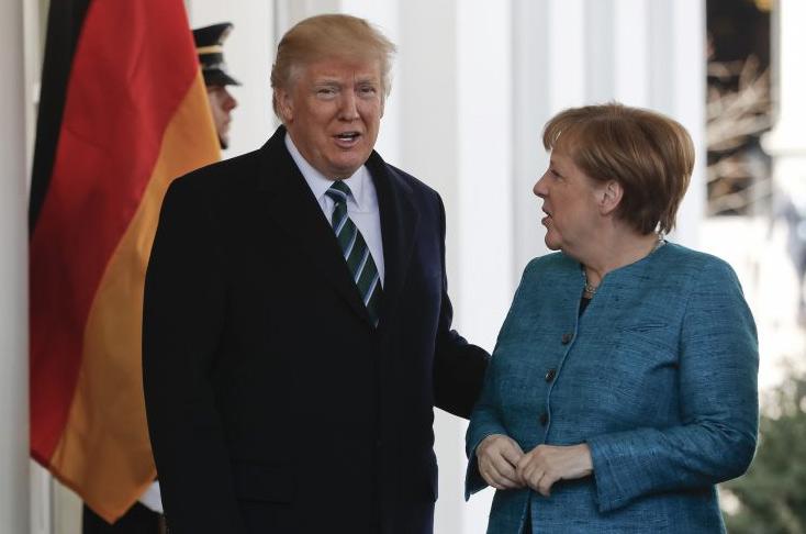 Trump Refused Merkel Shake Hand at White House