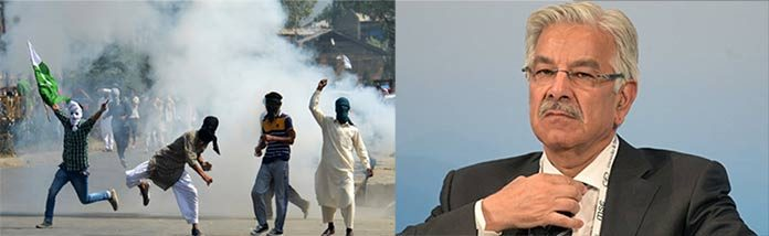 Unresolved Kashmir Issue Threatens Regional Peace – Khawaja Asif