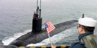 US Submarine Arrives Amid North Korean Missile Tests