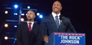 Dwayne Johnson Presidential Campaign Announced
