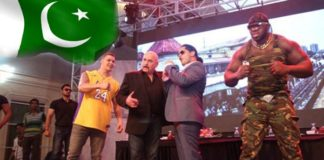 Top International Wrestlers Visit Pakistan
