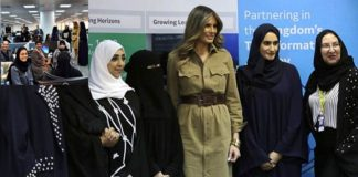 Melania Trump Speaks on Saudi Women Empowerment