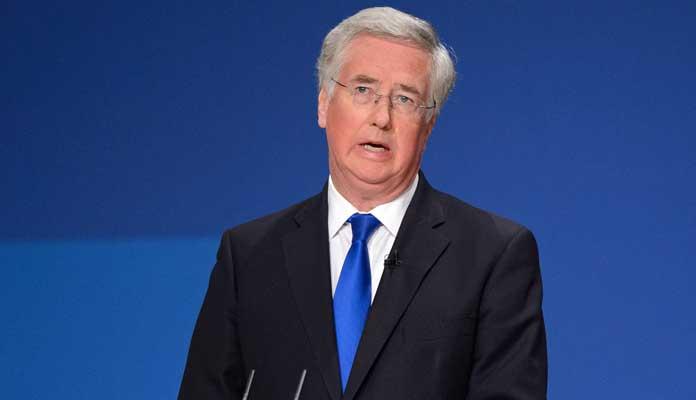 British Defense Secretary Michael Fallon