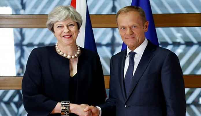 Theresa May Unveils New European Citizens Deal