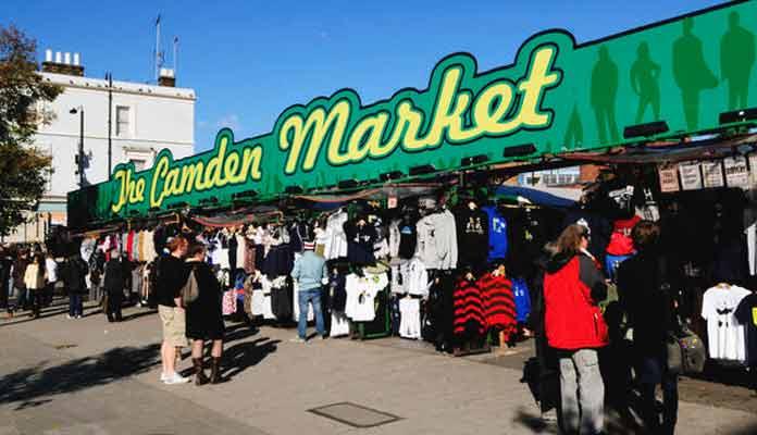 Camden Market Fire Becomes Wild