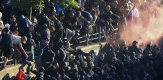 G20 Protests Erupt in Hamburg Germany