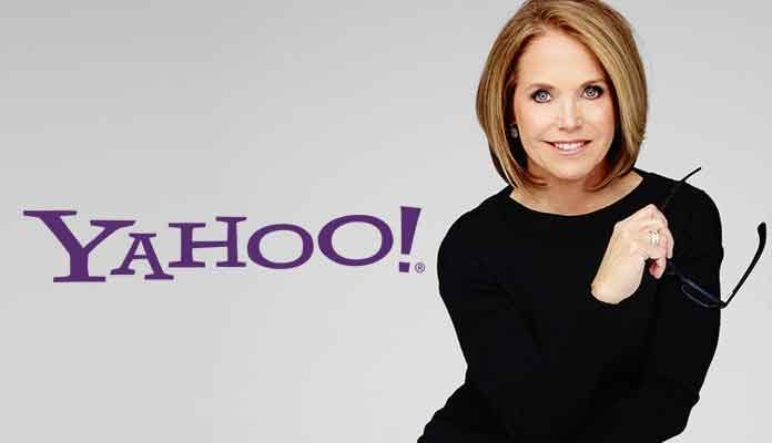 Katie Couric to Leave $10 Million Job at Yahoo
