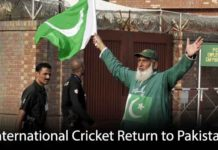International Cricket May Finally Return to Pakistan