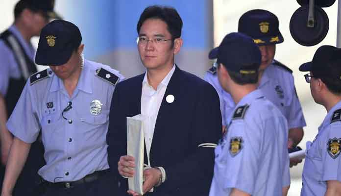 Samsung Heir Lee Jae-Yong Goes to Jail