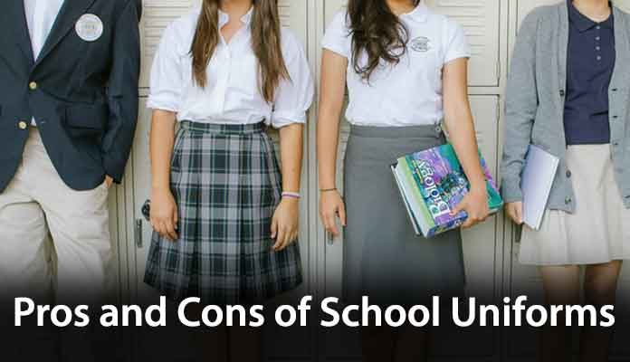 pros and cons on school uniform