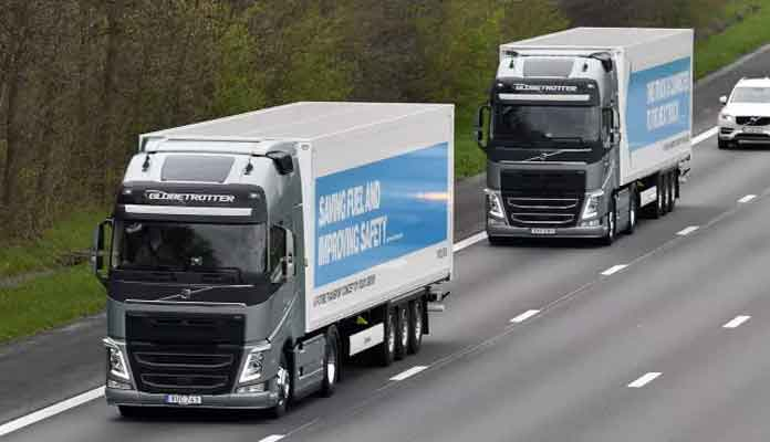 Self-Driving Lorries to Come to UK Next Year