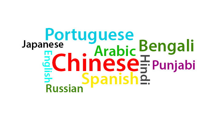 Different Languages Spoken In The World - World top language list
