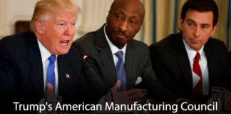 Trump's American Manufacturing Council Falling Apart