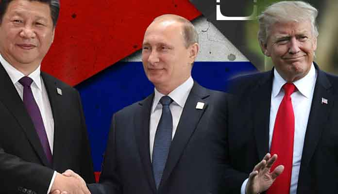 China, Russia, and US