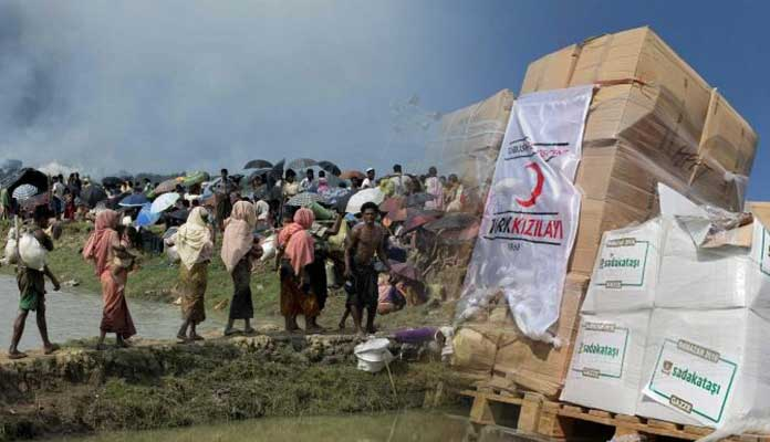 Turkish Aid Agency TIKA Helps Rohingya Muslims