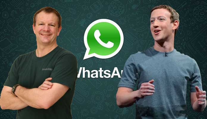 Mark Zuckerberg & Brian Acton
