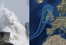 Hurricane Ophelia to Impact Parts of UK & Ireland