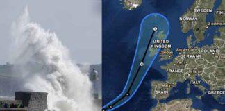 Hurricane Ophelia to Impact Parts of UK & Ireland