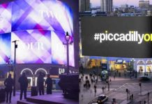 Piccadilly Circus Billboard Lights Come Back to Life