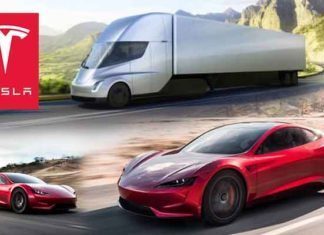 Tesla Semi-Truck and Roadster Impress Auto Enthusiasts