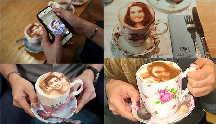 Image result for selfieccino london
