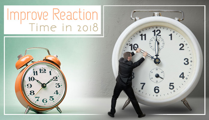 how to improve reaction time in 2018