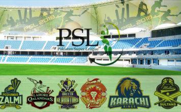 PSL 2018 Schedule