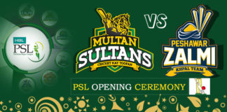 PSL 2018 Opening Ceremony