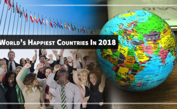 happiest countries in 2018