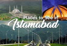 Worth Seeing Places in Islamabad