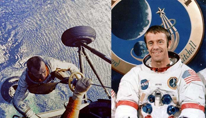 who was first american astronaut in space - photo #23