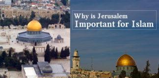 Jerusalem Important to Islam