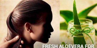 How to Apply Aloe Vera For Hair Growth