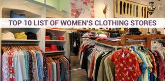 List of Women's Clothing Stores