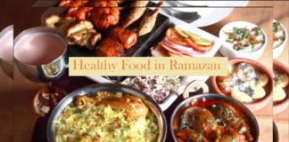 Food in Ramazan