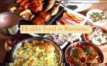Food in Ramazan